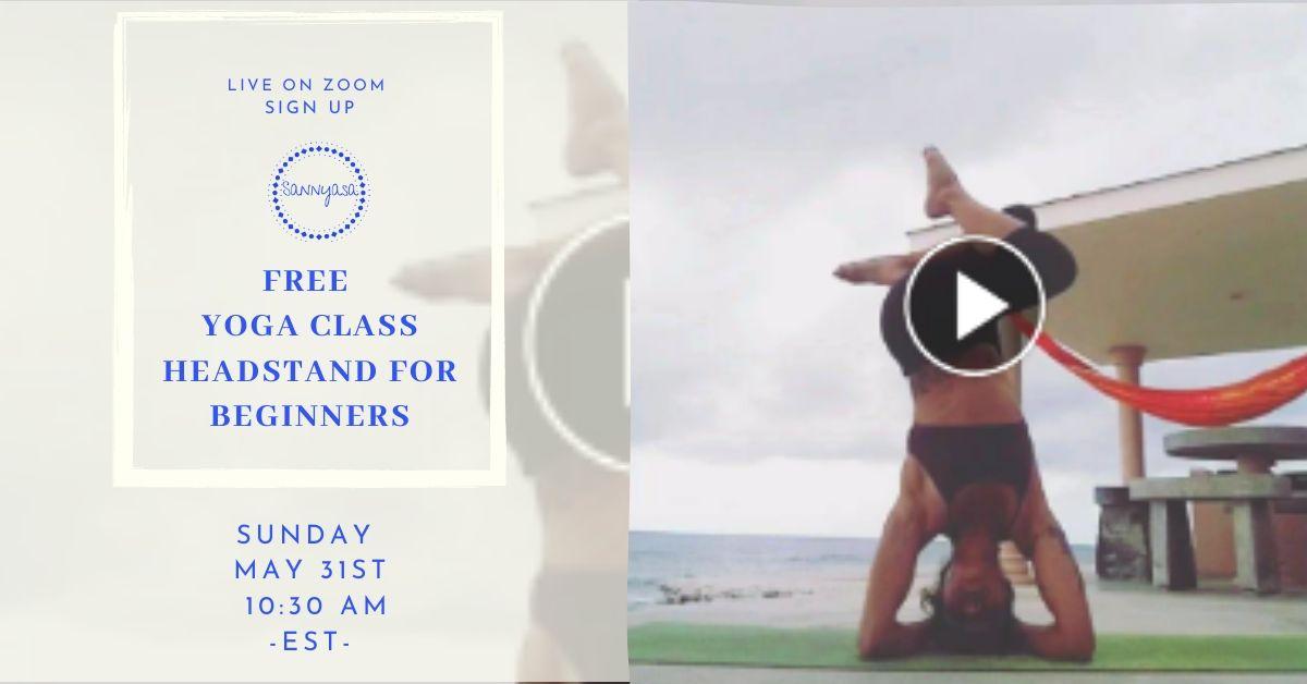 FREE YOGA CLASS ✨